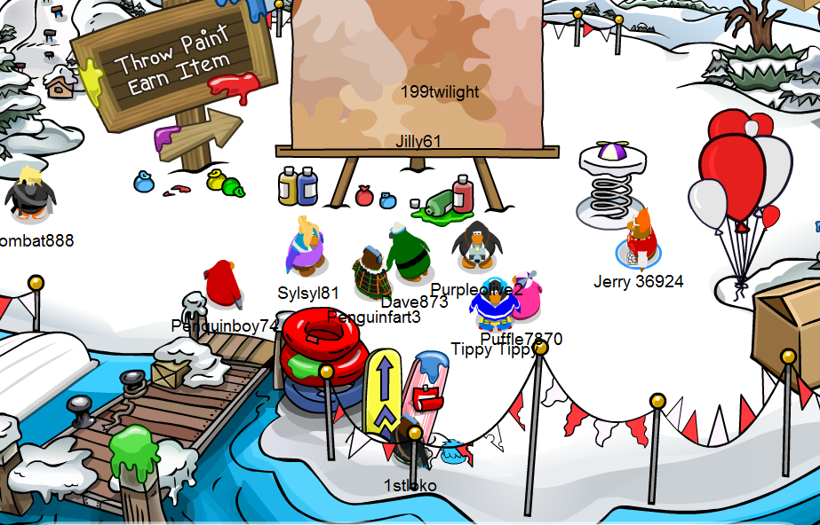 how to get party hat in cp island